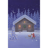 Eva Melhuish boxed cards, Christmas Cabin