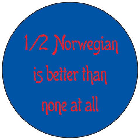 1/2 Norwegian round button/magnet