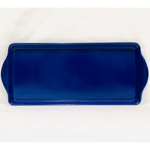 Indigo Blue Almond Cake Tray
