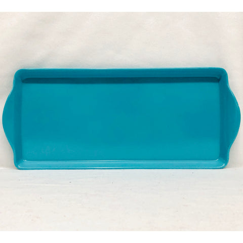 Light Blue Almond Cake Tray