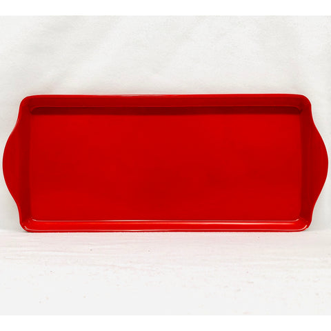 Red Almond Cake Tray