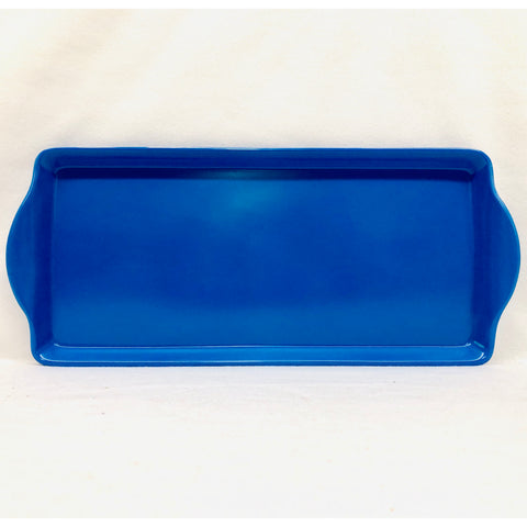 Royal Blue Almond Cake Tray