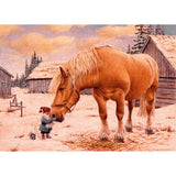 Jan Bergerlind boxed cards, tomtes with horse