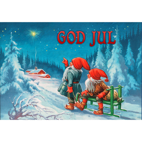 Blue Sky God Jul Placemat