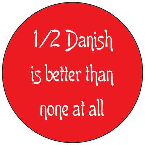 1/2 Danish round button/magnet