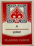 Denmark Flag & Crest playing cards