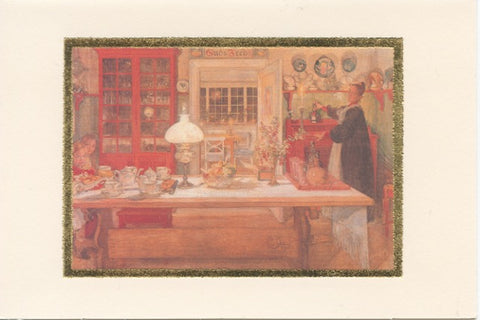 Carl Larsson Blank Note Cards