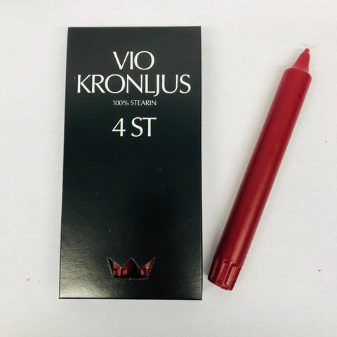 VIO Knonljus Candles - 4 pack