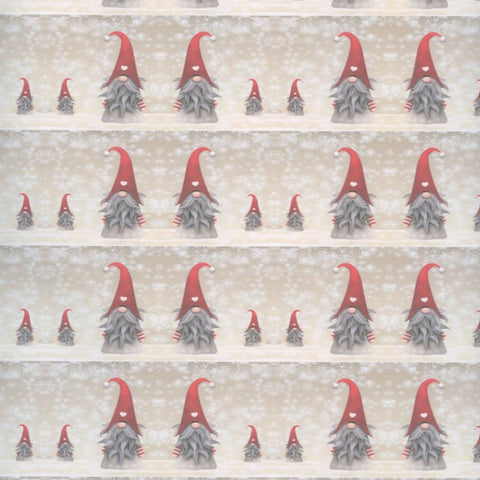 Gnomes Gift wrap or craft paper