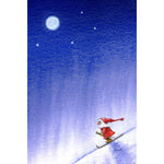 Eva Melhuish boxed cards, Tomte Skier