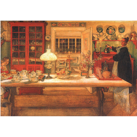 Boxed cards, Carl Larsson kitchen table