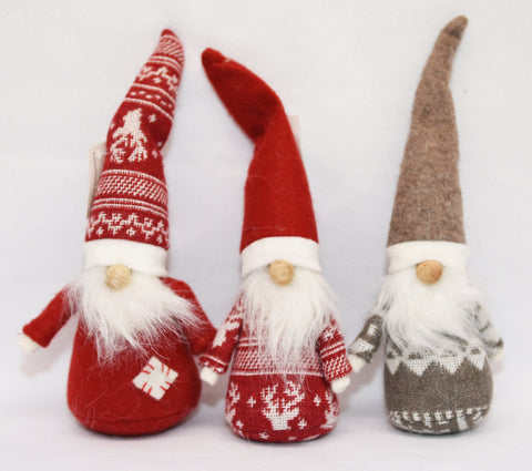 Tall hat gnomes - set of 3