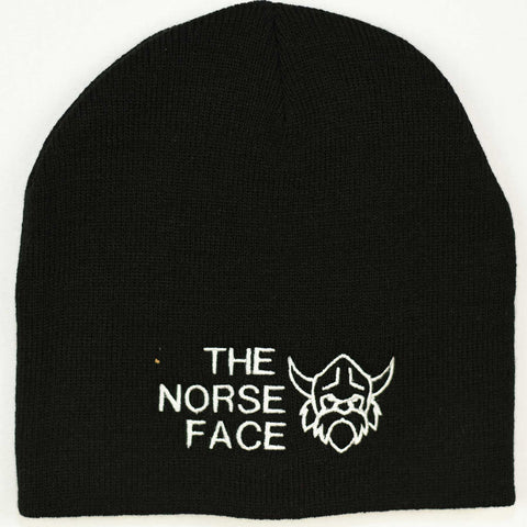 Knit beanie hat - The Norse Face
