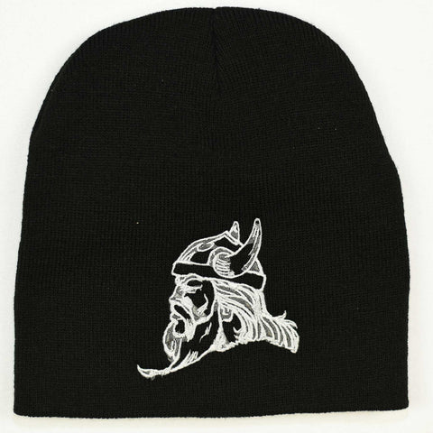 Knit beanie hat - Viking