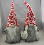 Nordic gnome couple, 21""