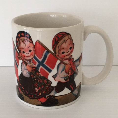 Norwegian couple coffee mug