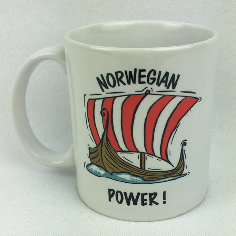 Norwegian Power coffee mug