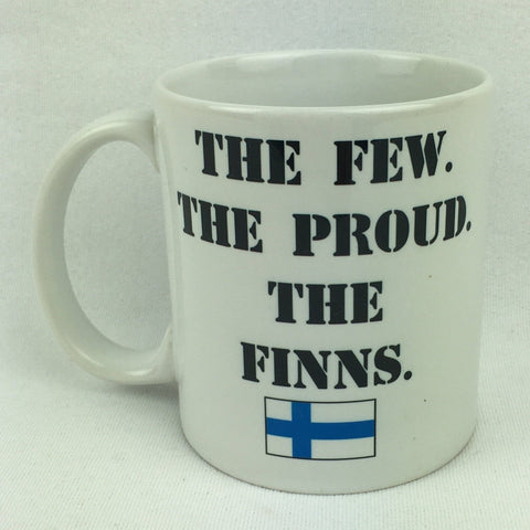The Few The Proud The Finns coffee mug