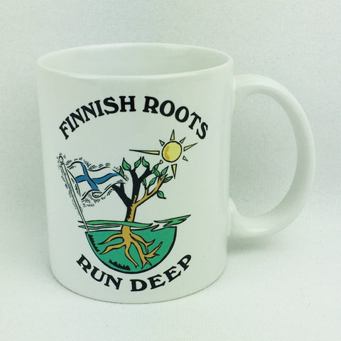 Finnish roots run deep coffee mug