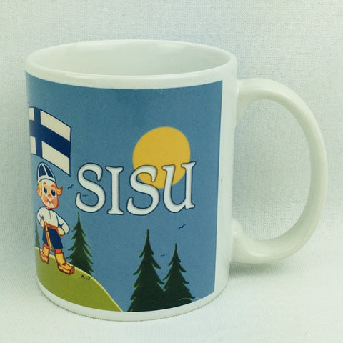Sisu Boy coffee mug