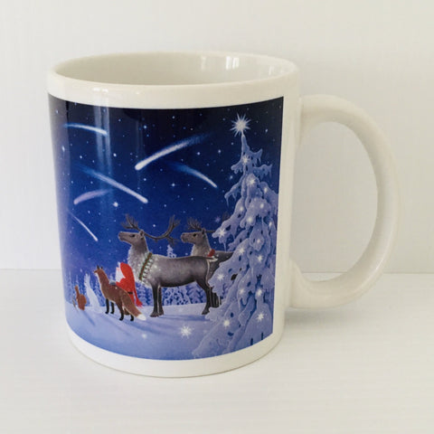 Eva Melhuish Shooting Stars coffee mug