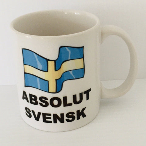Absolut Svensk coffee mug