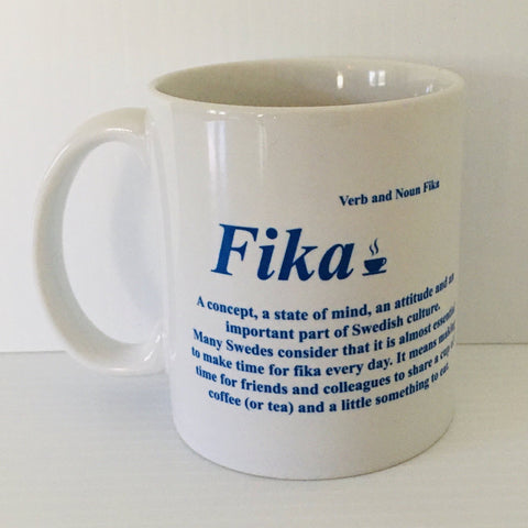 Fika Definition coffee mug