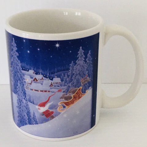 Eva Melhuish Speeding sled coffee mug