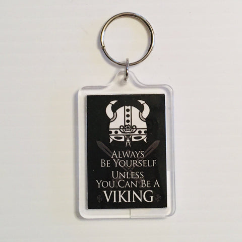 Keyring, Be Yourself Unless you can be a Viking