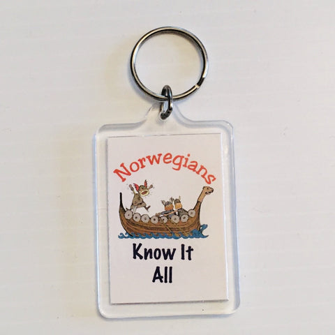 Keyring, Norwegians know it all