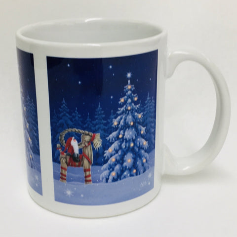 Eva Melhuish Tomte on Straw Goat coffee mug