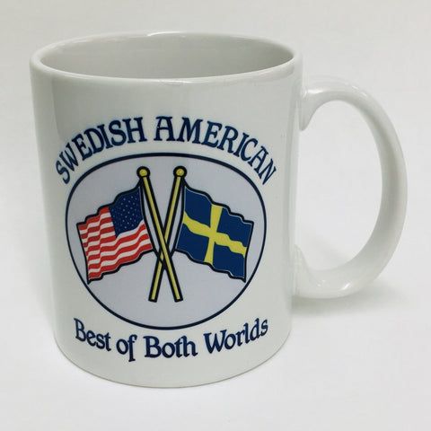 Swedish American Best of Both coffee mug