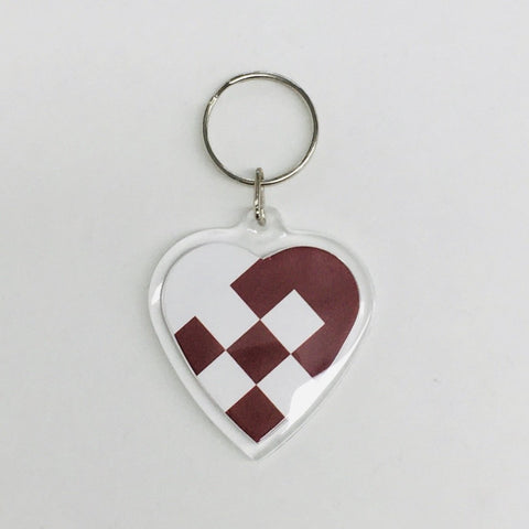 Heart Keyring, Heart basket