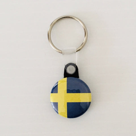 Keyring,  Sweden flag