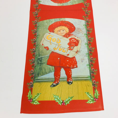 God Jul Girl Table Runner