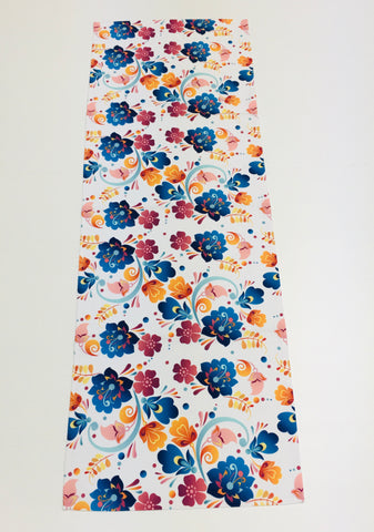 Flowers Table Runner