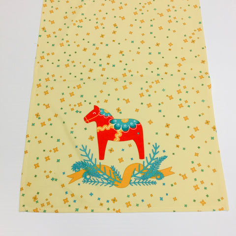 Dala Horse Table Runner