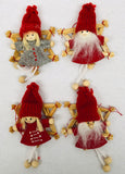 Gnome straw star ornaments