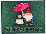 Welcome Gnome rug