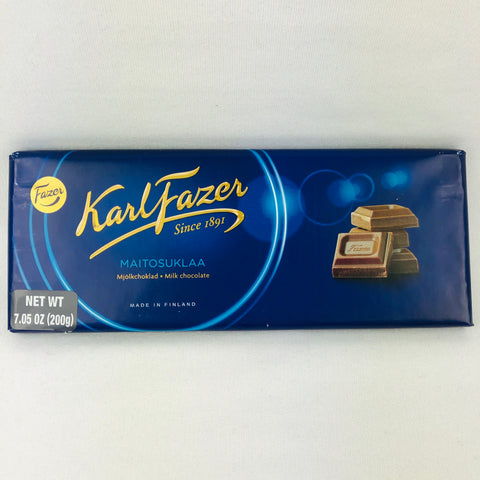 "Fazer ""Blue bar"" milk chocolate 200g"