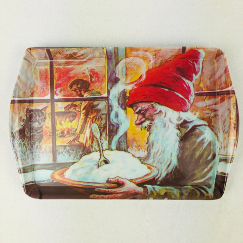 Tray - Jenny Nystrom Tomte with Porridge