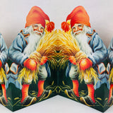 Cutout Tomte with wheat
