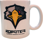 WTHS Robotics program coffee mug