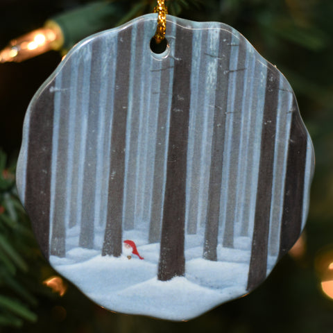 Ceramic Ornament, Eva Melhuish Tall trees