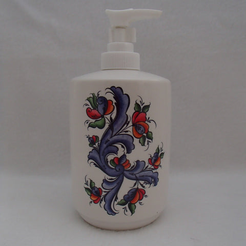 Pump Dispenser - Rosemaling