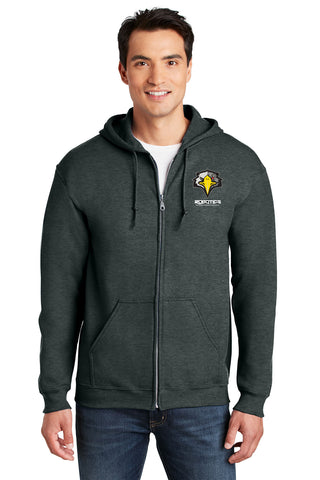 WTHS Robotics Program full-zip embroidered Hoodie