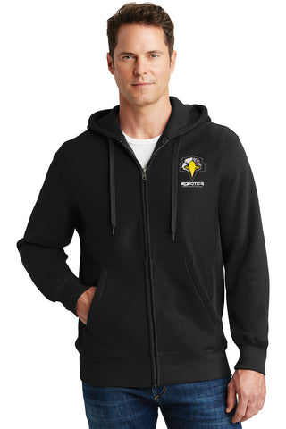 WTHS Robotics Program Heavyweight full-zip embroidered Hoodie