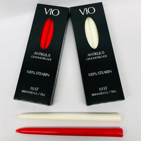 VIO Antikljus Candles - 10 pack