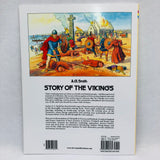 The Story of the Vikings coloring book.