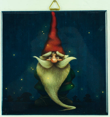 "6"" Tile, Midnight Gnome"